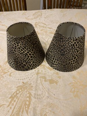 2 identical lamp heads for Sale in San Antonio, TX