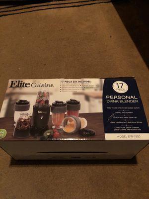 17 piece elite cuisine blender for Sale in Nashville, TN