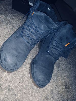 Navy blue timberlands! for Sale in Beaverton, OR