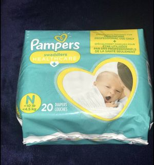 Pampers swaddlers newborn for Sale in Grove City, OH