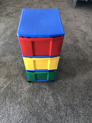 Kids 3 drawer storage container for Sale in Aurora, CO