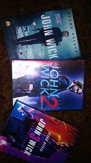 John Wick Chapters 1-3 for Sale in Glen Burnie, MD