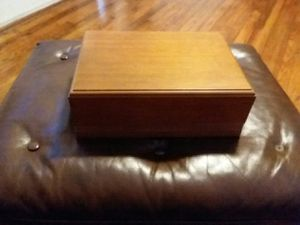 Cigar humidifier, with poker set for Sale in San Antonio, TX