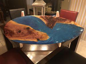 Cedar decorative surfboard for Sale in NEW PRT RCHY, FL