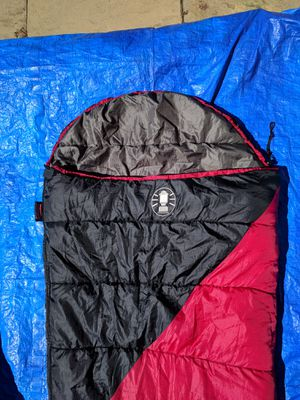 Coleman adult sleeping bag, in good shape, little use for Sale in Federal Way, WA