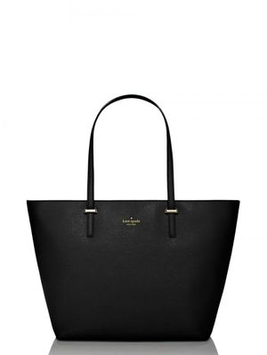 Kate Spade black leather original tote for Sale in Valley Center, CA