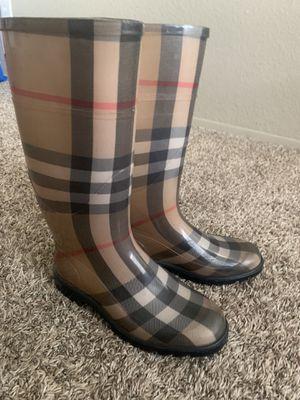 Burberry Rain Boots for Sale in Chula Vista, CA