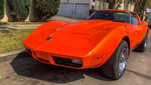 1973 Chevy Corvette Stingray HOK Tangelo Rally Wheels Built 350 Steel Bumpers for Sale in Placentia, CA