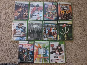 Xbox 360 games plus other items for Sale in Northbrook, IL