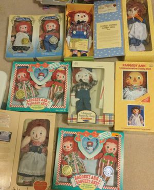 Raggedy Ann and Andy dolls for Sale in Tempe, AZ