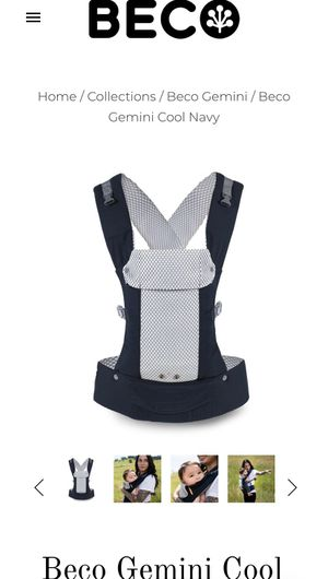 Beco Gemini Cool- Baby Carrier for Sale in Pearland, TX