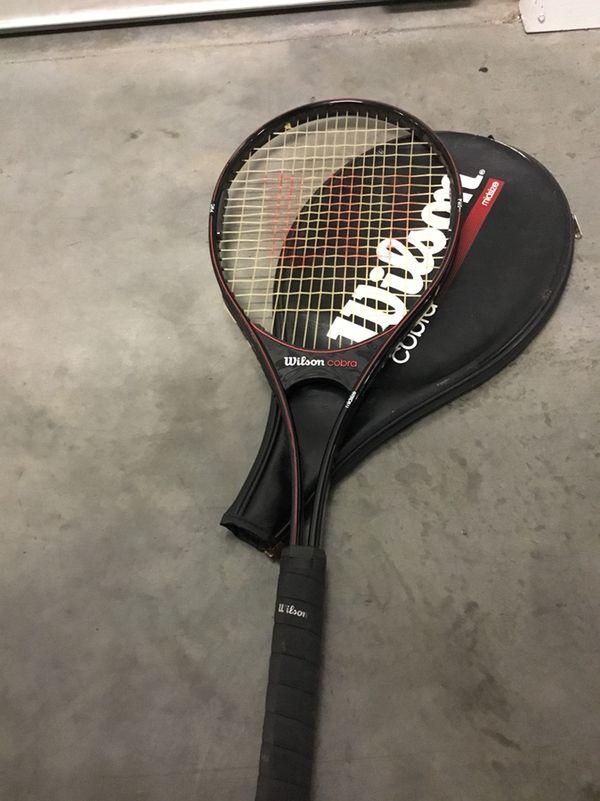 Wilson cobra tennis racket