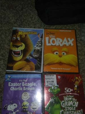 Children's DVDs ( unopened) for Sale in Everett, WA