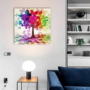 ((FREE SHIPPING)) abstract colorful tree. (rainbow, abstract, butterfly) | modern wall decor/home decoration Painting like print for Sale in San Francisco, CA