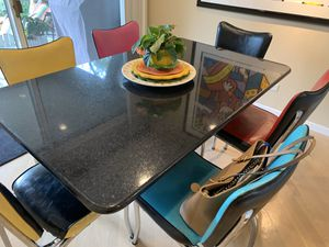 Breakfast table with 6 chairs for Sale in Northbrook, IL