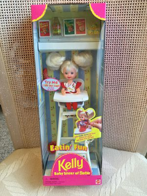 Eatin' Fun KELLY in Highchair — Barbie's Baby sister — New in box for Sale in Cape Coral, FL