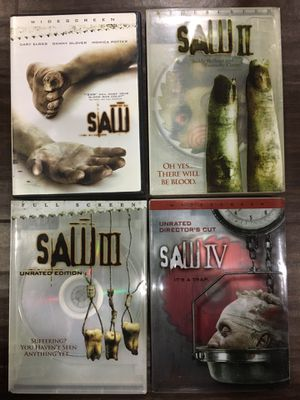 Saw Movies, Horror Movies, Scary Movies for Sale in Buena Park, CA