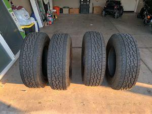 255/75/R17 Nexen All terrain tires for Sale in Maricopa, AZ