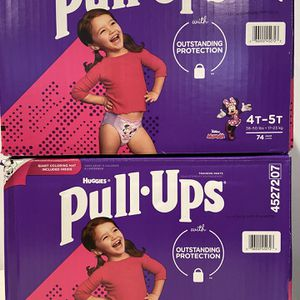 Huggies pull-ups size 4t-5t $25 each box 📦 for Sale in Compton, CA