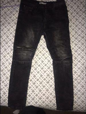 Zara Denim w Zipper Knee for Sale in Washington, DC