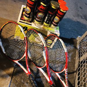 Tennis Rackets And Balls for Sale in Anaheim, CA