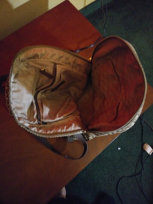 Micheal Kors backpack Purse