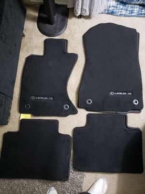 Floor mats carpeted from a Lexus is for Sale in Allentown, PA