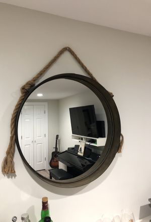 Rustic antique mirror for Sale in Holly Springs, NC