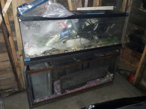 Fish tanks and stand for Sale in Warren, MI