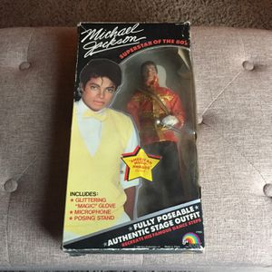 Michael Jackson Doll for Sale in Gilbertsville, PA