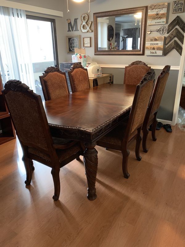 Ashley S Furniture North Shore Dining Table Set For Sale In Union City Ca Offerup