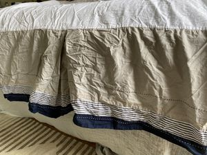 Pottery Barn Kids crib skirt for Sale in San Diego, CA