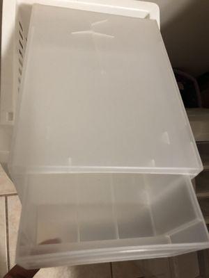 Plastic 2-drawer storage unit for Sale in McDonough, GA