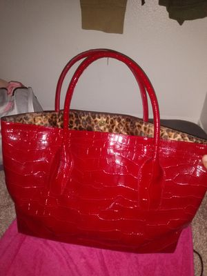 Large red tote bag for Sale in Euless, TX