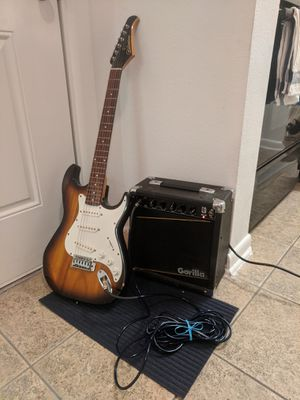 Guitar and amp for Sale in Orlando, FL
