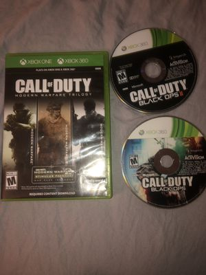 Call of Duty modern warfare & black ops for Sale in The Bronx, NY
