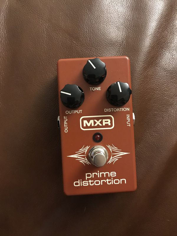 MXR Prime Distortion guitar pedal