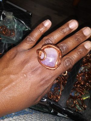 Isis Amethyst And Cooper Ring for Sale in Las Vegas, NV