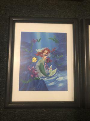 Framed Disney Princess Portraits for Sale in Naugatuck, CT