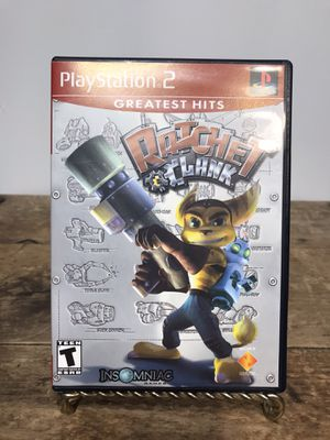 Ratchet & Clank for Playstation 2, Cleaned, Tested and works great 🎮❄️🕹 for Sale in Concord, CA