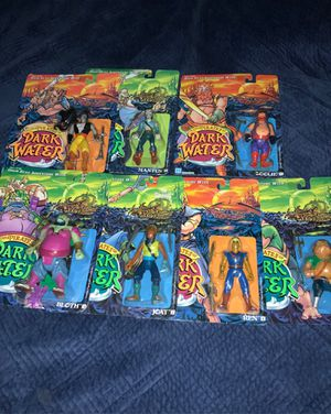 """Vintage HASBRO 1990 """"THE PIRATES OF DARK WATER - Seven Different Action Figures"""" for Sale in Beaverton, OR"""