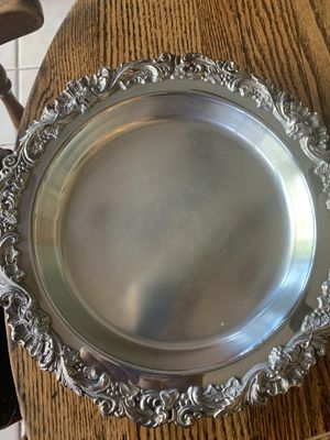 Sheffield silver USA serving tray for Sale in Rancho Cucamonga, CA