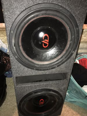 Audio speakers 12's for Sale for sale  Austell, GA