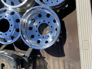 22.5 American force dually wheels and tires /w adapter Ford F-350 for Sale in San Diego, CA