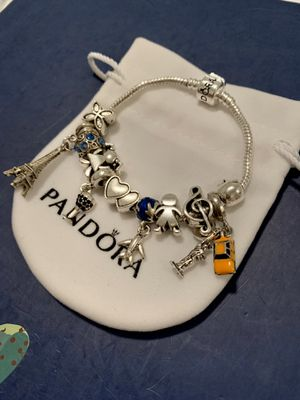 Travel couple charm bracelet for Sale in Tampa, FL