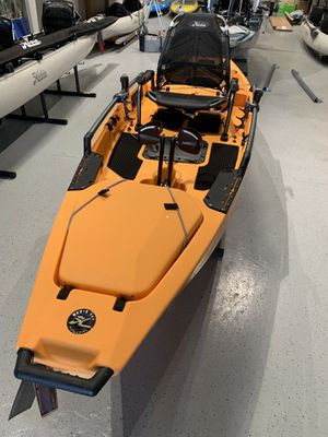 2019 Hobie Pro Angler 12 Pedal Fishing Kayak Papaya Color for Sale in Richmond, CA