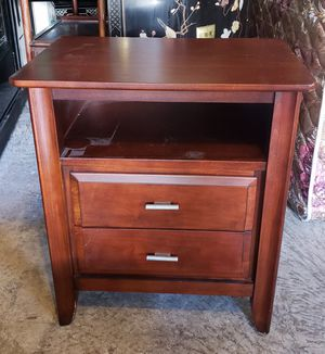 Rosewood desk end table for Sale in Seattle, WA