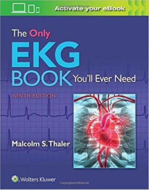 The Only EKG Book You'll Ever Need Ninth Edition ebook PDF for Sale in Los Angeles, CA