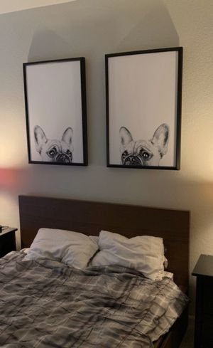 Matching French Bulldog framed prints for Sale in Harrisonburg, VA