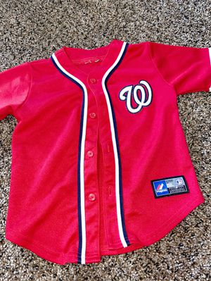WASHINGTON NATIONALS JERSEY FOR INFANT/TODDLER for Sale in Fort Washington, MD